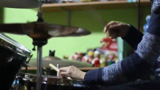 Jarabe de Palo - Agua (Drum Cover - Batería)