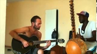 Sénégal   Kora et guitare