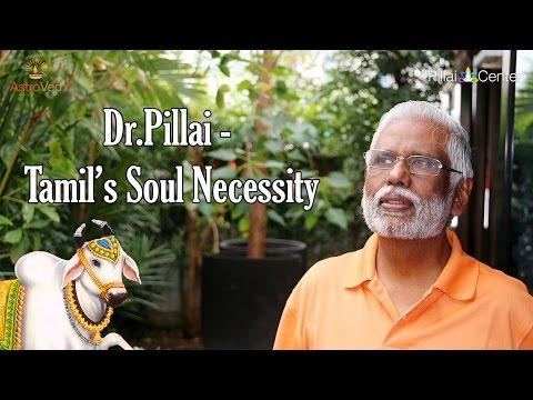 Dr Pillai - Tamils' Soul Necessity(Jallikattu)