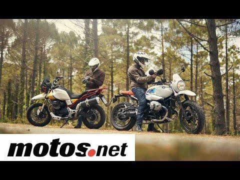 Comparativo BMW R nineT Urban GS vs Moto Guzzi V85TT / Prueba / Preview en español