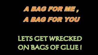 Rubberbandits - Bag Of Glue (Lyrics On Screen)