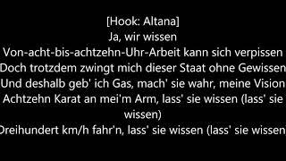 Seko feat. Altana -  Lass Sie wissen Lyrics