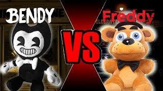 Freddy vs Bendy (Plush Battle)