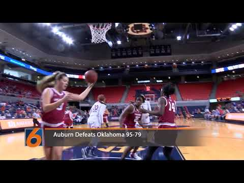 Auburn Women's Basketball vs Oklahoma