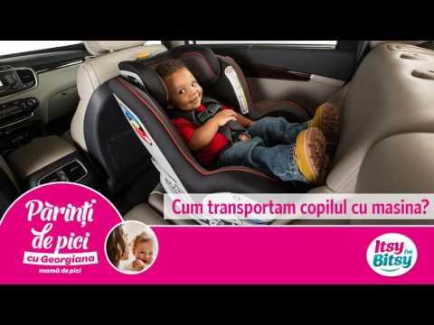 Cum transportam copilul cu masina?
