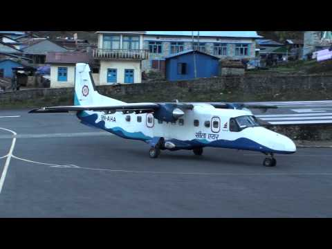 Lukla Airport in Nepal, Impressionen