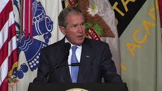 2017 Thayer Award The 43rd President of the United States George W. Bush