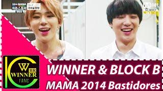 WINNER & BLOCK B - MAMA 2014 Bastidores Legendado PT-BR
