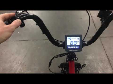 Liberty trike - change units from miles to kM