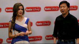 "Laura Marano and Ken Jeong ""Boombox"" Switch   Radio Disney"