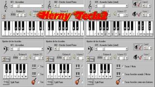 La Mala Gata - Grupo Sombras - Piano Electronico