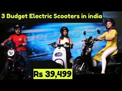 3 Affordable Electric Scooters Launched in India Rs 40,000 | Evolet