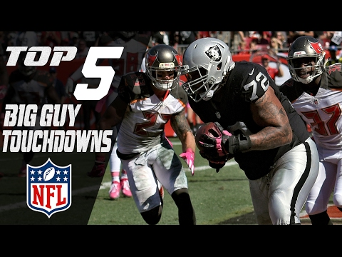 Top 5 Big Guy Touchdowns of the 2016 Season | NFL Highlights
