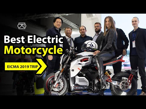 BEST ELECTRIC MOTORCYCLES ON EICMA / OTTO BIKE MCR MCRS RIDE VIDEO