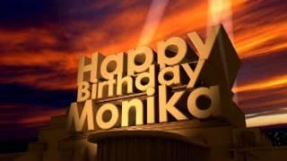 Happy Birthday Monika