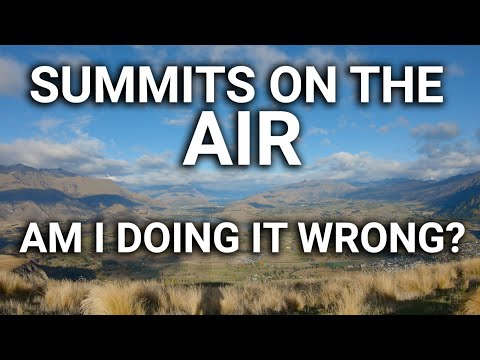 A Beautiful Day for Summits on the Air with ZL4RA