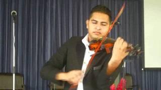 Proclama - Steve Green - por Josué Rugama, violín