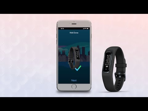 Garmin vívosmart 4: Pairing and Syncing Your Device