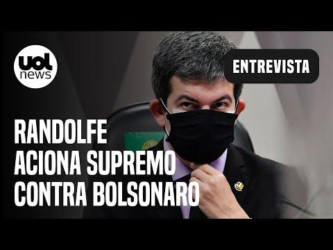 """Randolfe aciona STF com queixa-crime contra Bolsonaro: """"Instituiu guerra na política"""""""