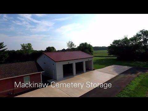 Mackinaw Cemetery Storage