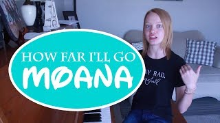 How Far I'll Go - Disney's Moana Piano Cover