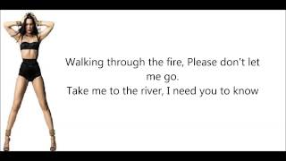 Jessie J - Burnin' Up - Ft . 2 Chainz - Lyrics On Screen | LyricMaker