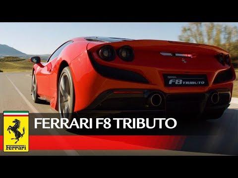 Ferrari F8 Tributo: outstanding performance