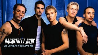 As Long As You Love Me - Backstreet Boys - Lyrics/แปลไทย