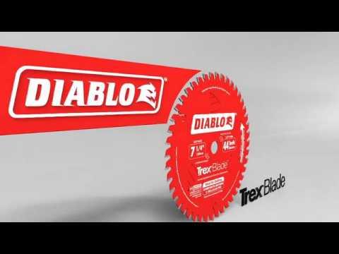Diablo Flush Cut Reciprocating Saw Blade - 5-Pk., 9in.L, 10/14 TPI, Model# DS0914AFC5