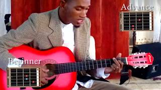 Travis Greene Cover Worship Rise Guitar Tutorial
