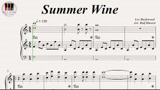 Summer Wine - Nancy Sinatra And Lee Hazlewood, Ville Valo feat. Natalia Avelon, Lana Del Rey, Piano