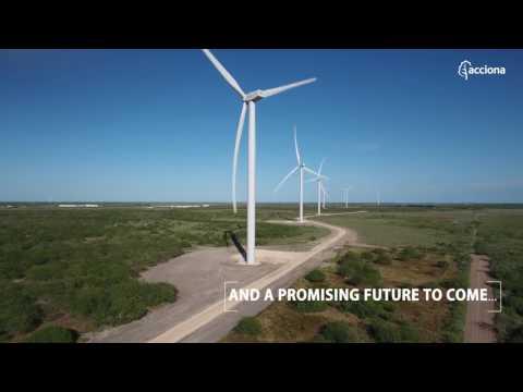 San Roman wind farm: ACCIONA's newest wind power installation in the US