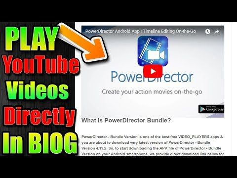 Download thumbnail for How to Direct Play YouTube Video in