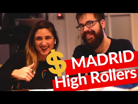 Poker Pros Attend High Roller Poker Tournament in Madrid