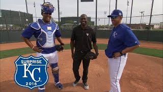 30 Clubs In 30 Days: Perez Demos How He Became An MLB Top Catcher