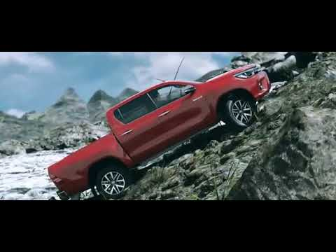 Toyota HiLux - Sushi for lunch