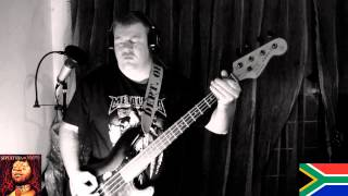 Sepultura Roots Bloody Roots bass cover by jacques van zijl