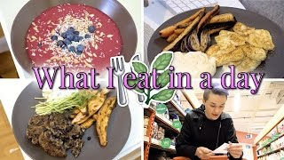 WHAT I EAT IN A DAY + handlar all mat