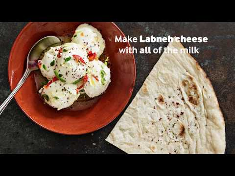 High-yield labneh cheese – with Nutrilac®