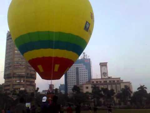 First Air Hot Balloon in Bangladesh By Tasfique 28.12.2011.mp4