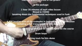 Funk Guitar Primer - Lesson Download
