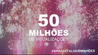 Vídeo Comemorativo | A Mala é Falsa 50 Milhões | Felipe Araújo