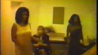 Liz Mitchell - the Voice of Boney M Back Stage (rare)