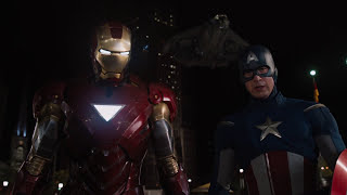 Iron Man's Entrance in the Avengers [Full HD]