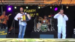 OBJAT(19)Festival CHANT'ACCORDEON 2013 JEROME BAUDOUI F VEYRIRAS ah si tu pouvais fermer ta gueule