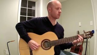 Seal: Crazy for classical guitar + TAB