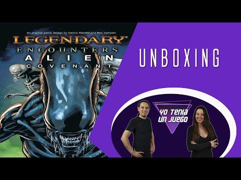 Contenido de Covenant (expansión Alien Legendary Encouters) - Yo Tenía Un Juego De Mesa #72