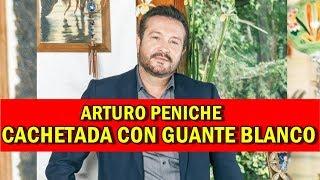 Arturo Peniche da cachetada con guante blanco a quienes lloran por su exclusividad