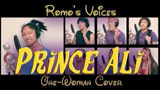 "Romo's Voices: ""Prince Ali"" One-Woman Cover - Disney's Aladdin"