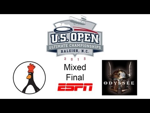 Video Thumbnail: 2013 U.S. Open Club Championships, Mixed Final: San Francisco Mischief vs. Montreal Odyssée